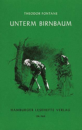 9783872911537: Unterm Birnbaum