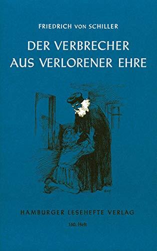 9783872911599: Der Verbrecher aus verlorener Ehre und andere Erzählungen