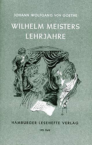 9783872911940: Wilhelm Meisters Lehrjahre