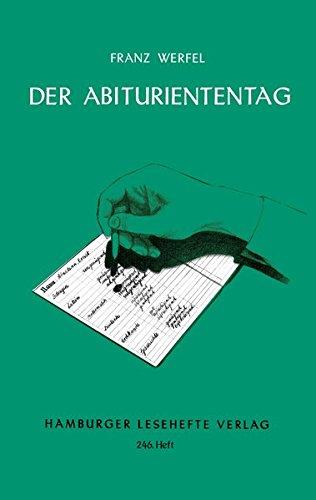 Der Abituriententag: 246: Werfel, Franz