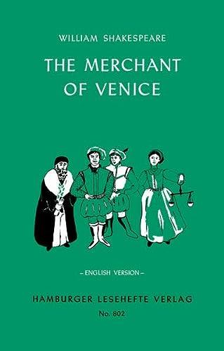 9783872918017: The Merchant of Venice. English Version