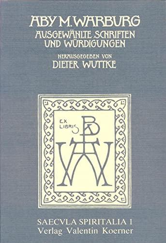 9783873204980: Ausgewählte Schriften und Würdigungen