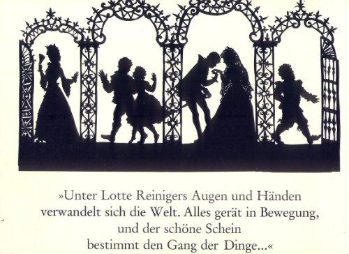 Mozart- Die großen Opern. in Scherenschnitten von Lotte Reininger- mit 228 Abbildungen. o.A. - Happ/Kaiser.