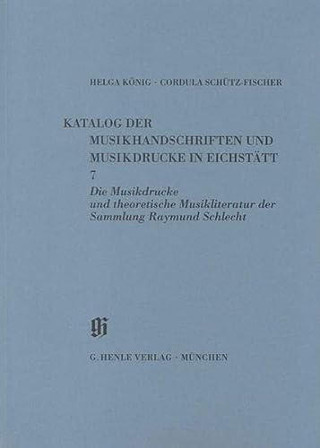9783873281097: Eichstätt: Musikdrucke u. theor. Musikliteratur - Books on Music - Book