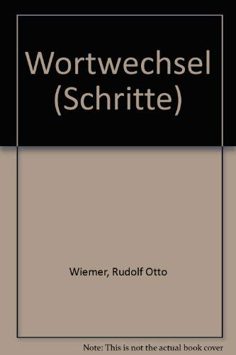 9783873520257: Wortwechsel: Gedichte