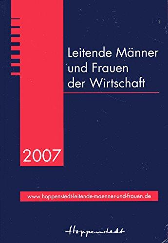 Leitende M?nner und Frauen der Wirtschaft 2007: n/a
