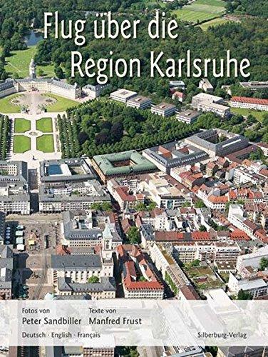 9783874077071: Flug über die Region Karlsruhe
