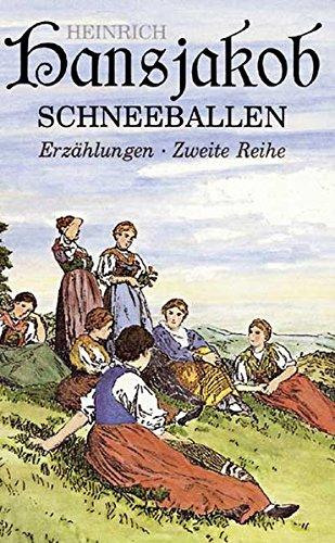 9783874079273: Schneeballen: Erzählungen. Zweite Reihe
