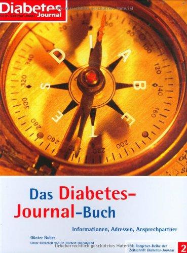 9783874093934: Das Diabetes-Journal-Buch: Informationen, Adressen, Ansprechpartner