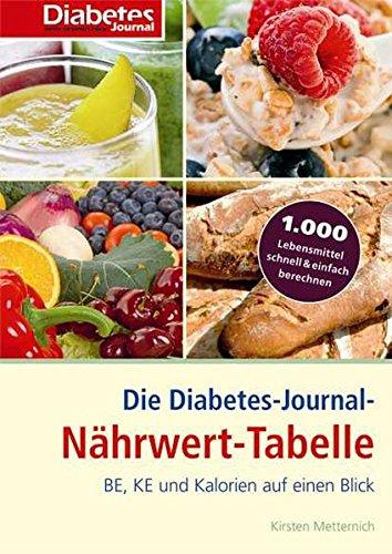 9783874094733: Die Diabetes-Journal-Nährwert-Tabelle