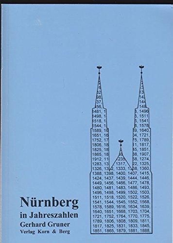 9783874322072: Nürnberg in Jahreszahlen