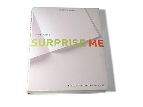 9783874396127: Surprise Me, Editorial Design
