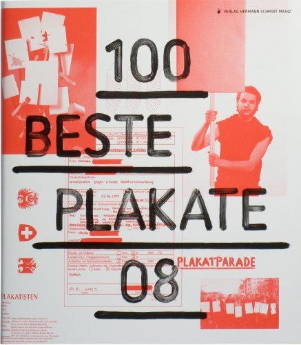 9783874397759: 100 beste Plakate 08. Deutschland - �sterreich - Schweiz