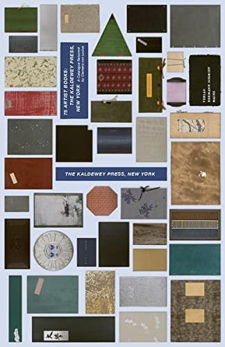 75 Artist Books: The Kaldewey Press, New York: Clemens von Lucius