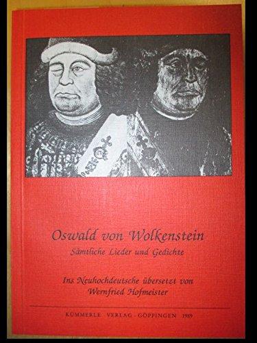 9783874527491: Sämtliche Lieder und Gedichte (Göppinger Arbeiten zur Germanistik)