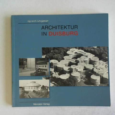 9783874632140: Architektur in Duisburg (German Edition)