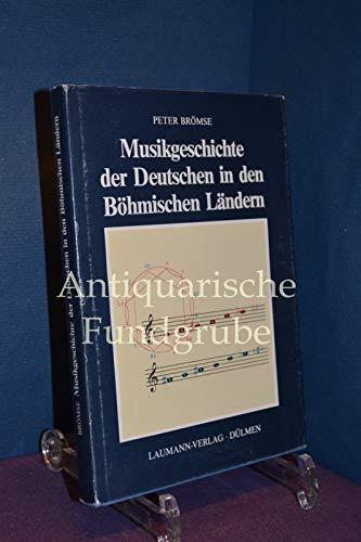 9783874661010: Musikgeschichte der Deutschen in den Böhmischen Ländern (Die Musik der Deutschen im Osten Mitteleuropas)