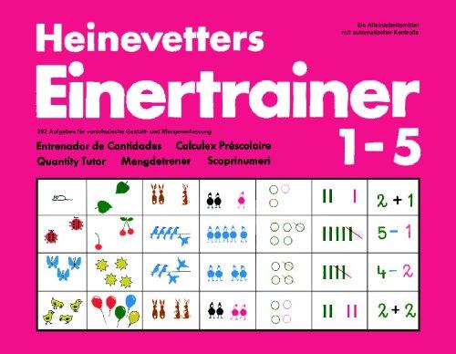 9783874740500: Heinevetters Einertrainer I/V