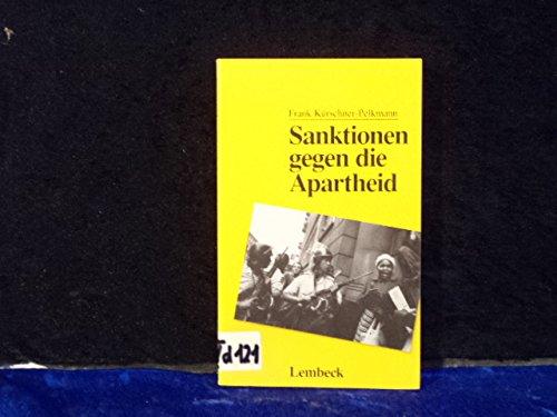 9783874762540: Sanktionen gegen die Apartheid