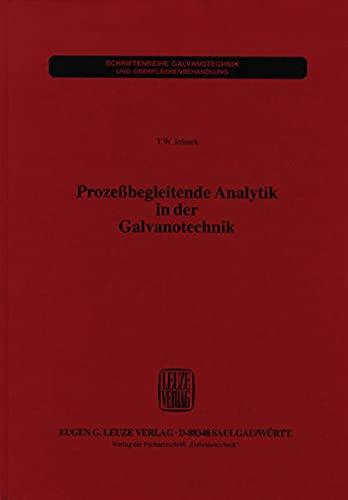 9783874801355: Prozessbegleitende Analytik in Der Galvanotechnik
