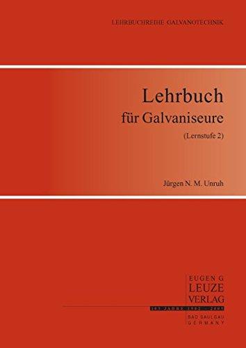 9783874802093: Lehrbuch für Galvaniseure (Lernstufe 2)