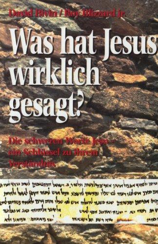 9783874821926: Was hat Jesus wirklich gesagt?