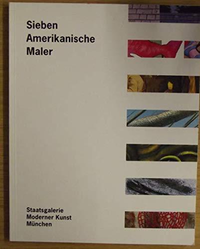 9783874903127: Sieben amerikanische Maler
