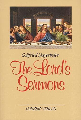 9783874953122: The Lord's Sermons