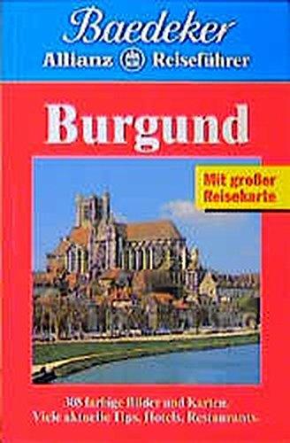 9783875045376: Baedeker Allianz Reiseführer Burgund