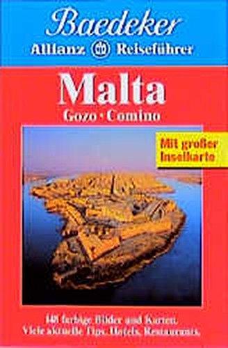 9783875045444: Baedeker Allianz Reiseführer Malta, Gozo, Comino