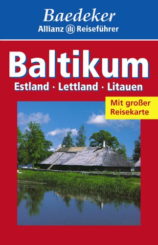 9783875045666: Baedeker Allianz Reisef�hrer Baltikum, Estland, Lettland, Litauen