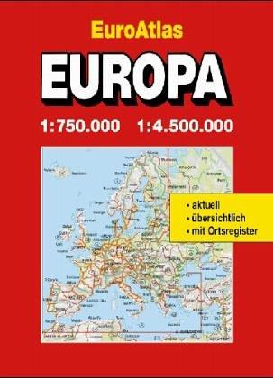 Shell Euro atlas 1:750.000 (German Edition): Verlag, Mairs Geographischer