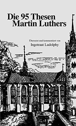 9783875130300: Die 95 Thesen Martin Luthers (Livre en allemand)