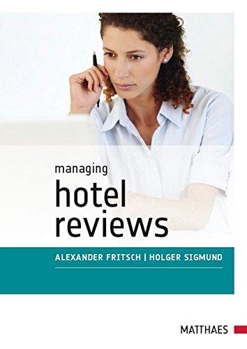 9783875150810: Managing Hotel Reviews