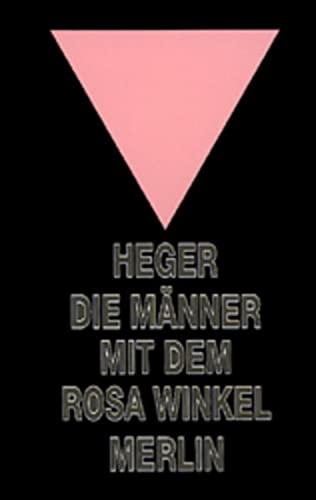 9783875362152: Die Männer mit dem rosa Winkel