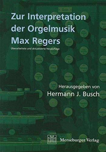 9783875373110: Zur Interpretation der Orgelmusik Max Regers (Livre en allemand)