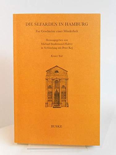 9783875480481: Die Sefarden in Hamburg (Romanistik in Geschichte und Gegenwart) (German Edition)