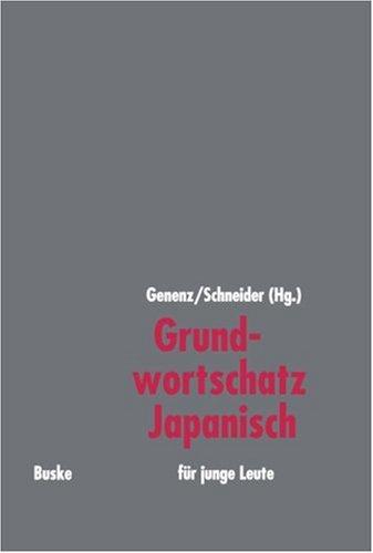9783875481433: Grundwortschatz Japanisch für junge Leute.