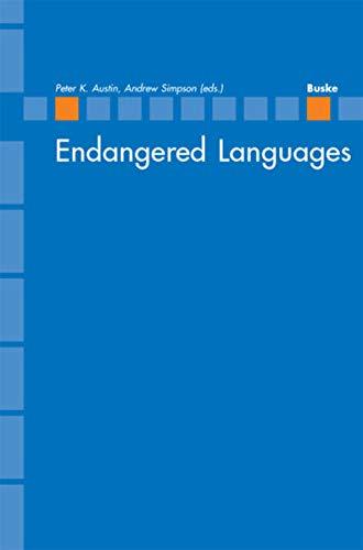 9783875484656: Endangered Languages. (Bedrohte Sprachen). (=Linguistische Berichte; Sonderheft 14).