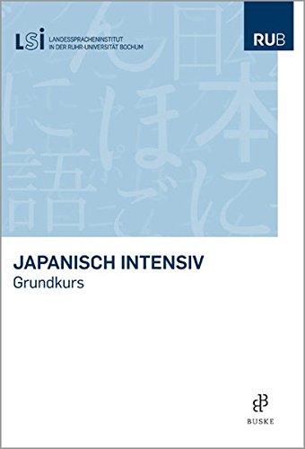 9783875486025: Japanisch intensiv: Grundkurs