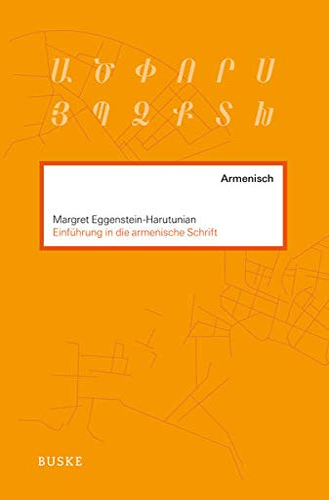 9783875486391: Einführung in die armenische Schrift
