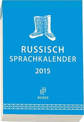 9783875486858: Sprachkalender Russisch 2015
