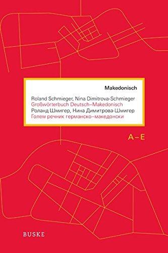 9783875487329: Großwörterbuch Deutsch-Makedonisch