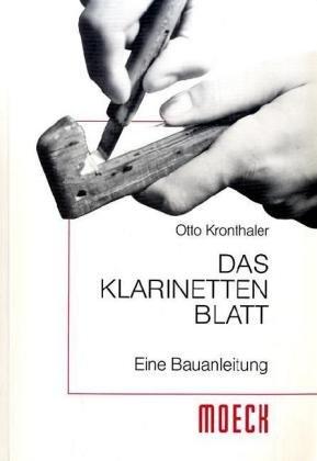 9783875490343: Das Klarinettenblatt