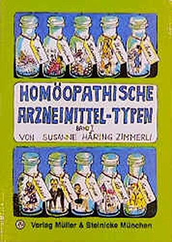 9783875691559: Homöopathische Arzneimittel-Typen 1
