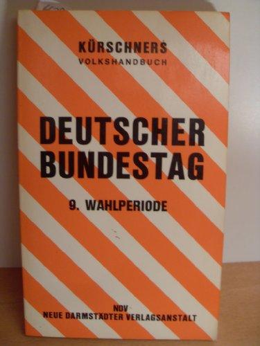 Deutscher Bundestag: Kürschner: