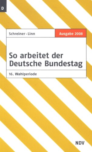 9783875765960: So arbeitet der Deutsche Bundestag