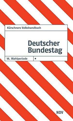 9783875767407: Kürschners Volkshandbuch Deutscher Bundestag 18. Wahlperiode