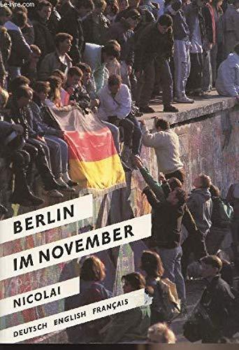 Berlin im November: Anke Schwartau and