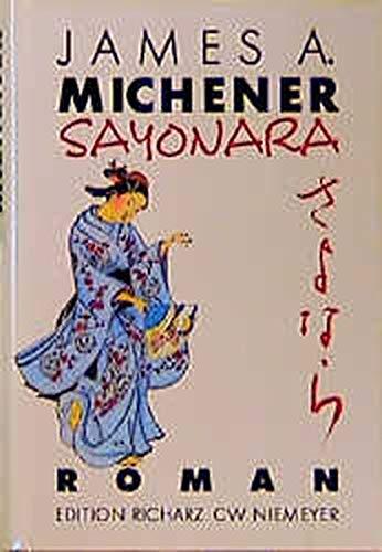 9783875858907: Sayonara. Roman
